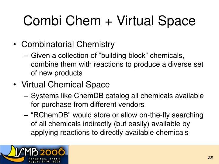 Combi Chem + Virtual Space
