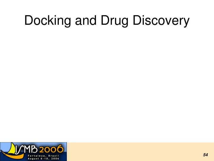 Docking and Drug Discovery