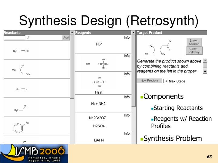 Synthesis Design (Retrosynth)