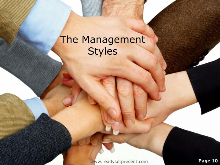 The Management Styles