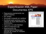 especificaci n xml paper documentos xps