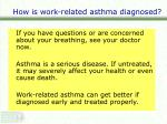 how is work related asthma diagnosed2