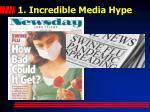 1 incredible media hype