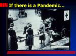 if there is a pandemic