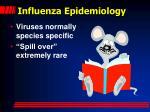 influenza epidemiology
