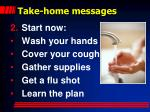 take home messages1