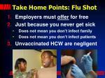 take home points flu shot1