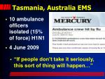 tasmania australia ems1