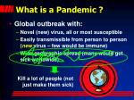 what is a pandemic1