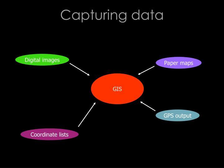 Capturing data
