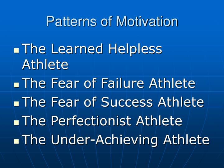 Patterns of Motivation
