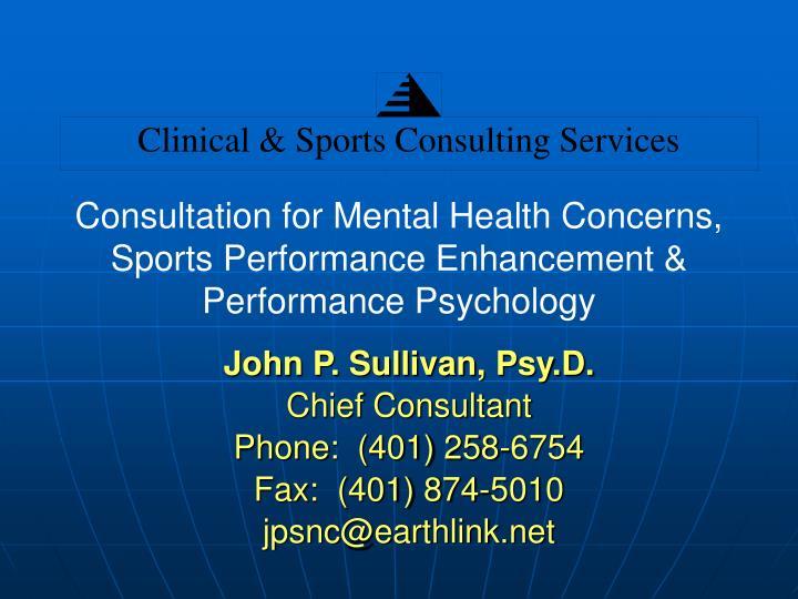 John P. Sullivan, Psy.D.