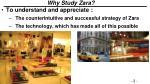why study zara