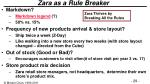 zara as a rule breaker1