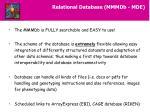 relational database mmmdb mde23