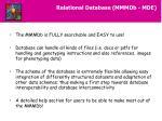 relational database mmmdb mde4