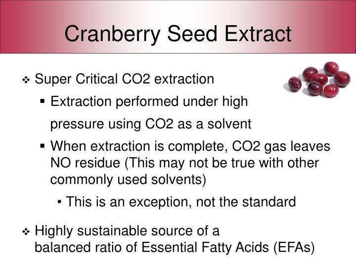 Cranberry Seed Extract