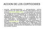 accion de los corticoides