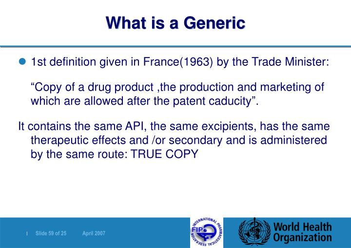 What is a Generic