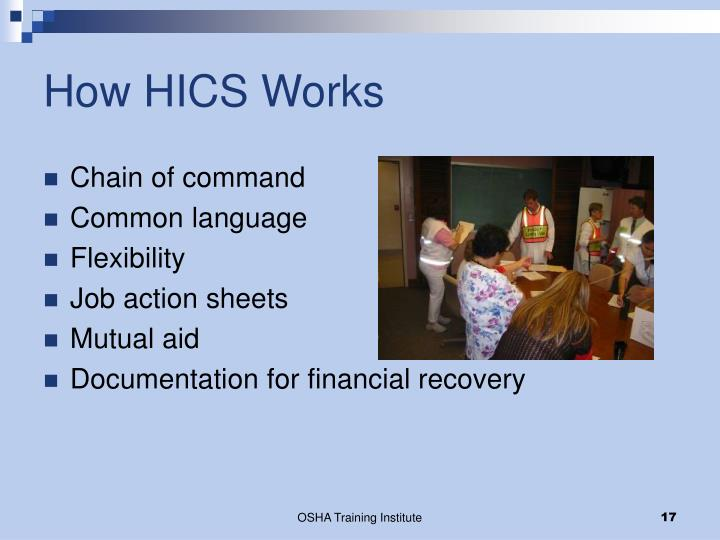 How HICS Works