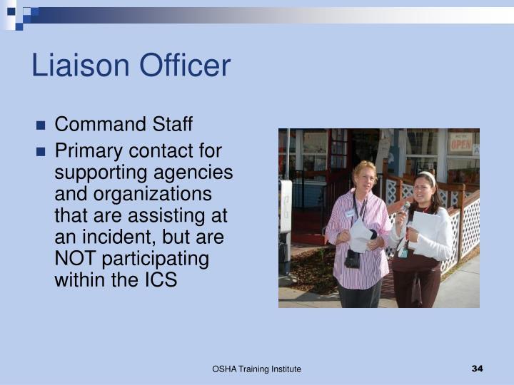 Liaison Officer