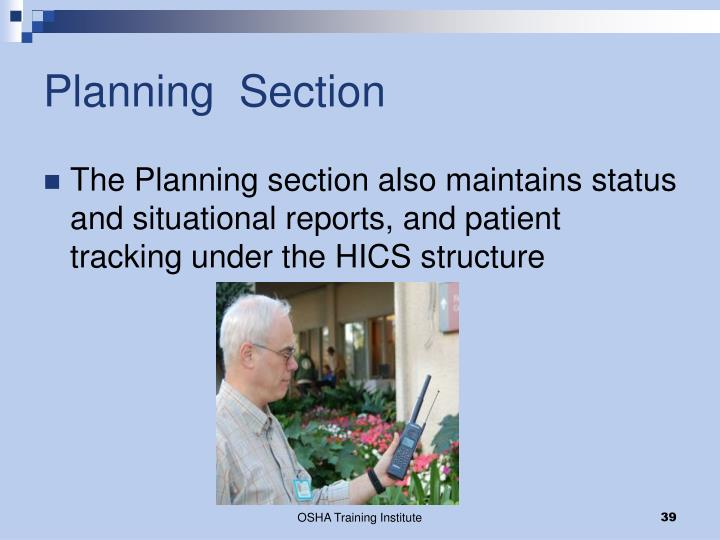 Planning  Section