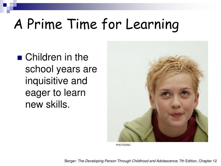 A prime time for learning