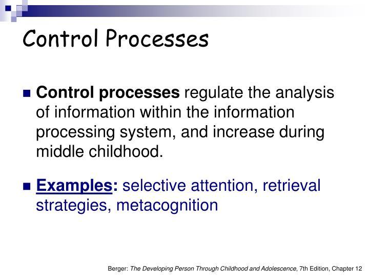 Control Processes