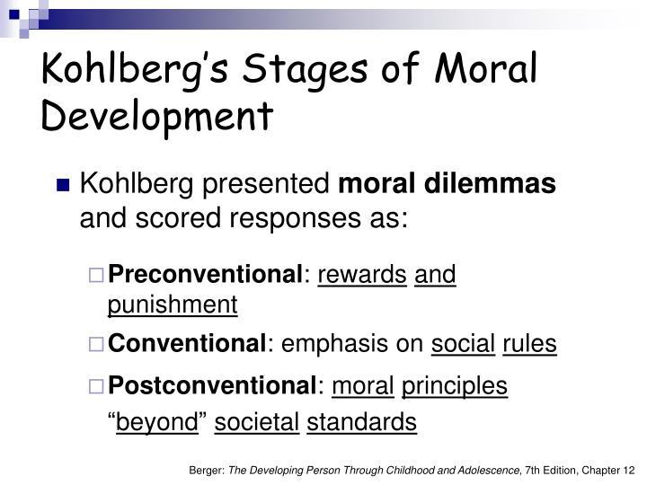 Kohlberg presented