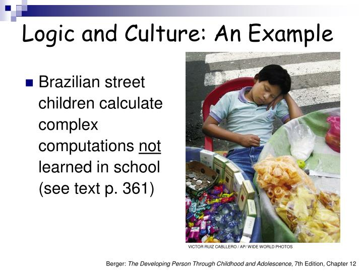 Logic and Culture: An Example