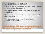 counseling cibl avec un psychologue ou avec un personnel form