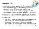 infused esc