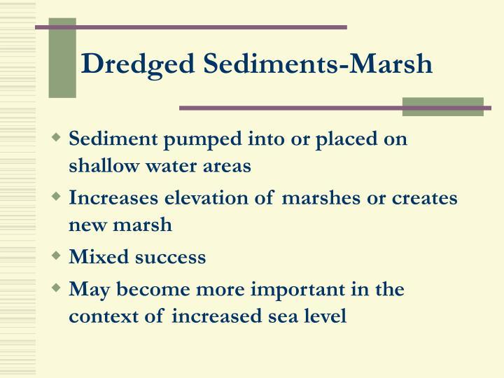 Dredged Sediments-Marsh