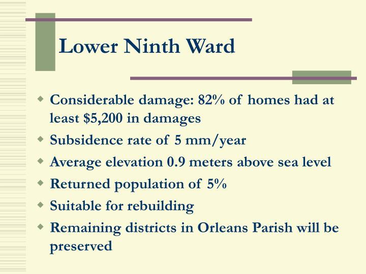 Lower Ninth Ward