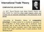international trade theory11