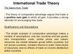 international trade theory16