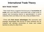 international trade theory26