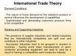 international trade theory32