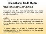 international trade theory35