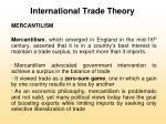 international trade theory5