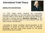 international trade theory6