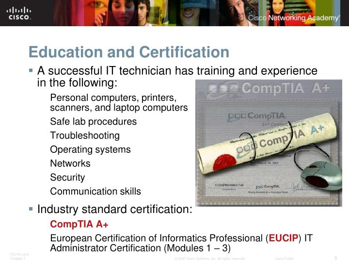 Education and Certification
