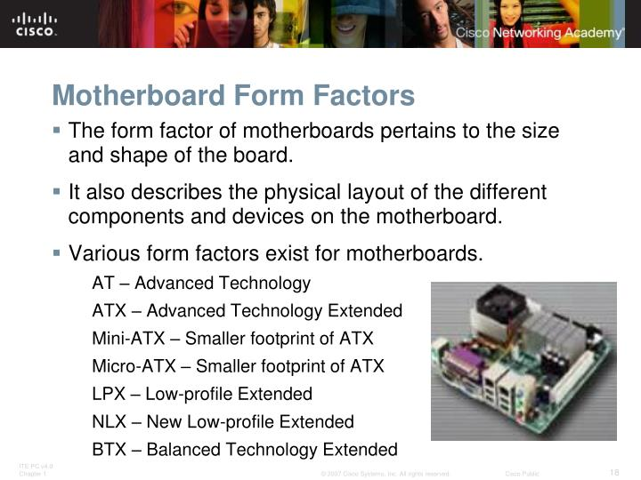 Motherboard Form Factors