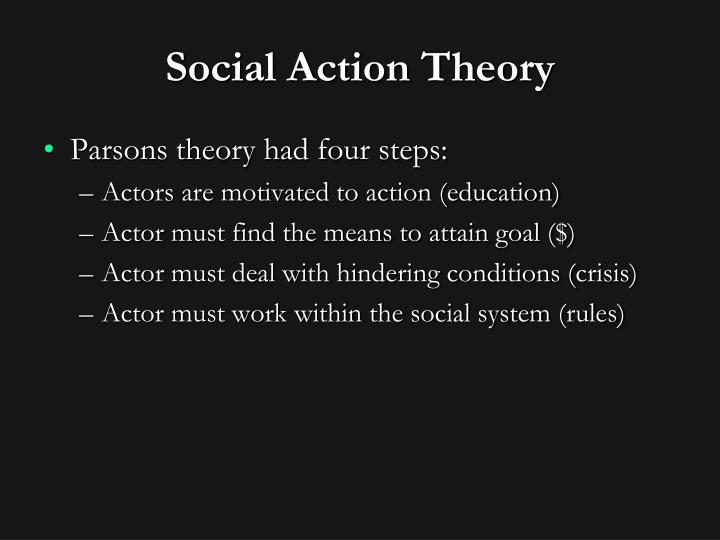 Social Action Theory