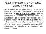 pacto internacional de derechos civiles y pol ticos