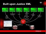 built upon justice xml