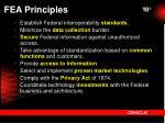 fea principles