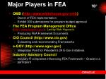 major players in fea