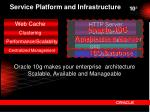service platform and infrastructure1