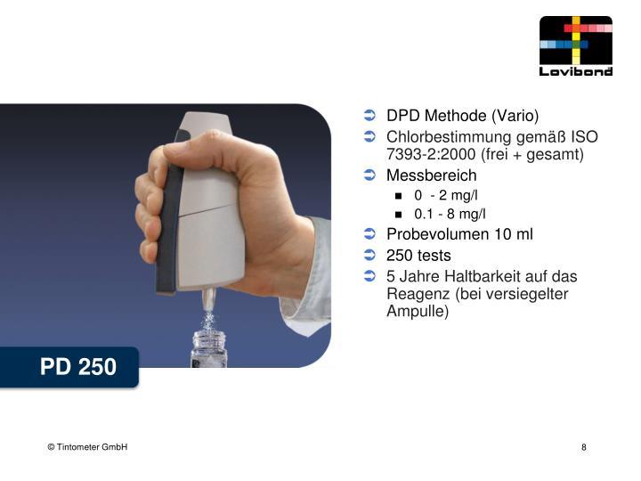 DPD Methode (Vario)